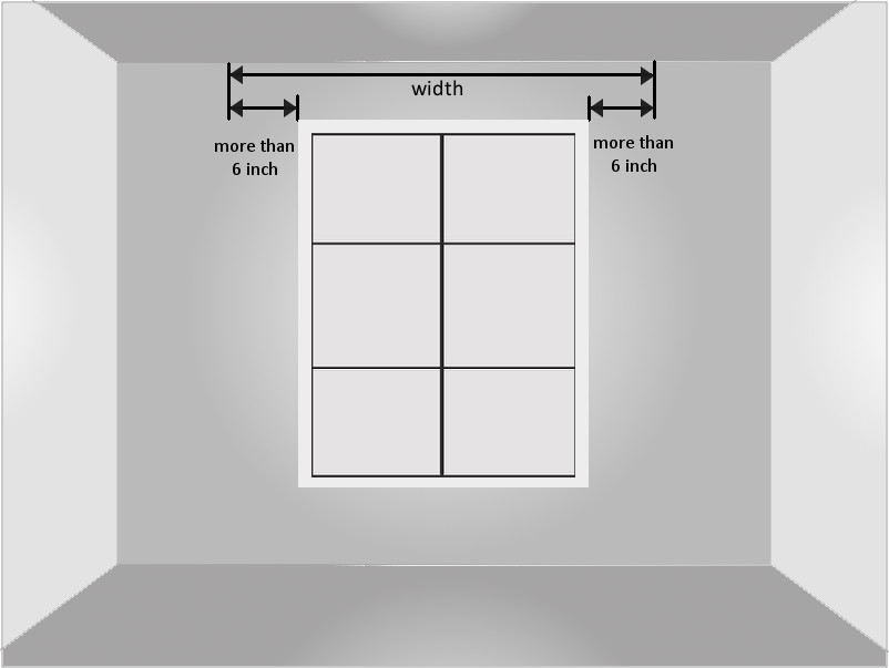 Curtain Rod Length Vs Window Width Scandlecandlecom