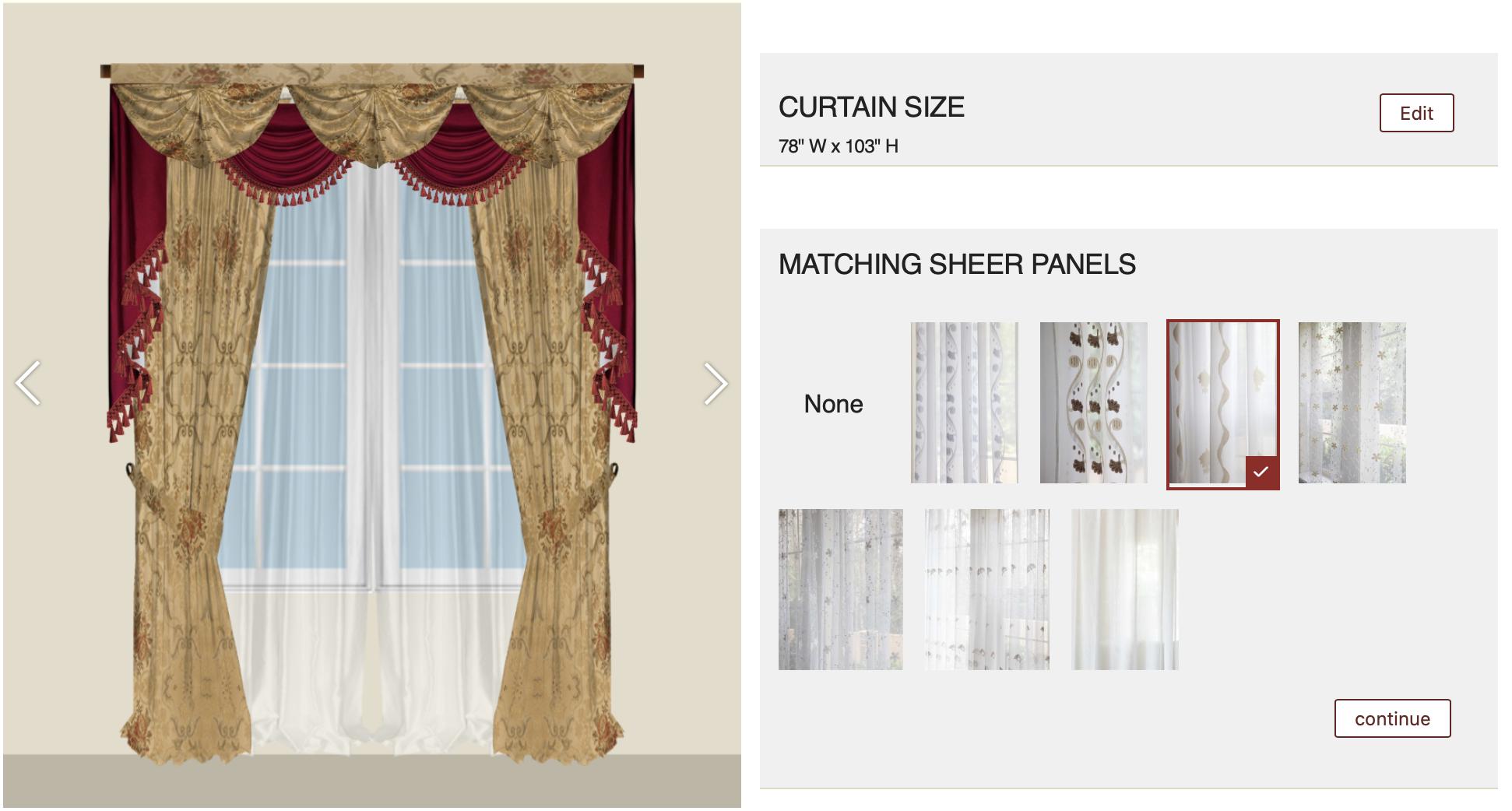 Customization-Sheers