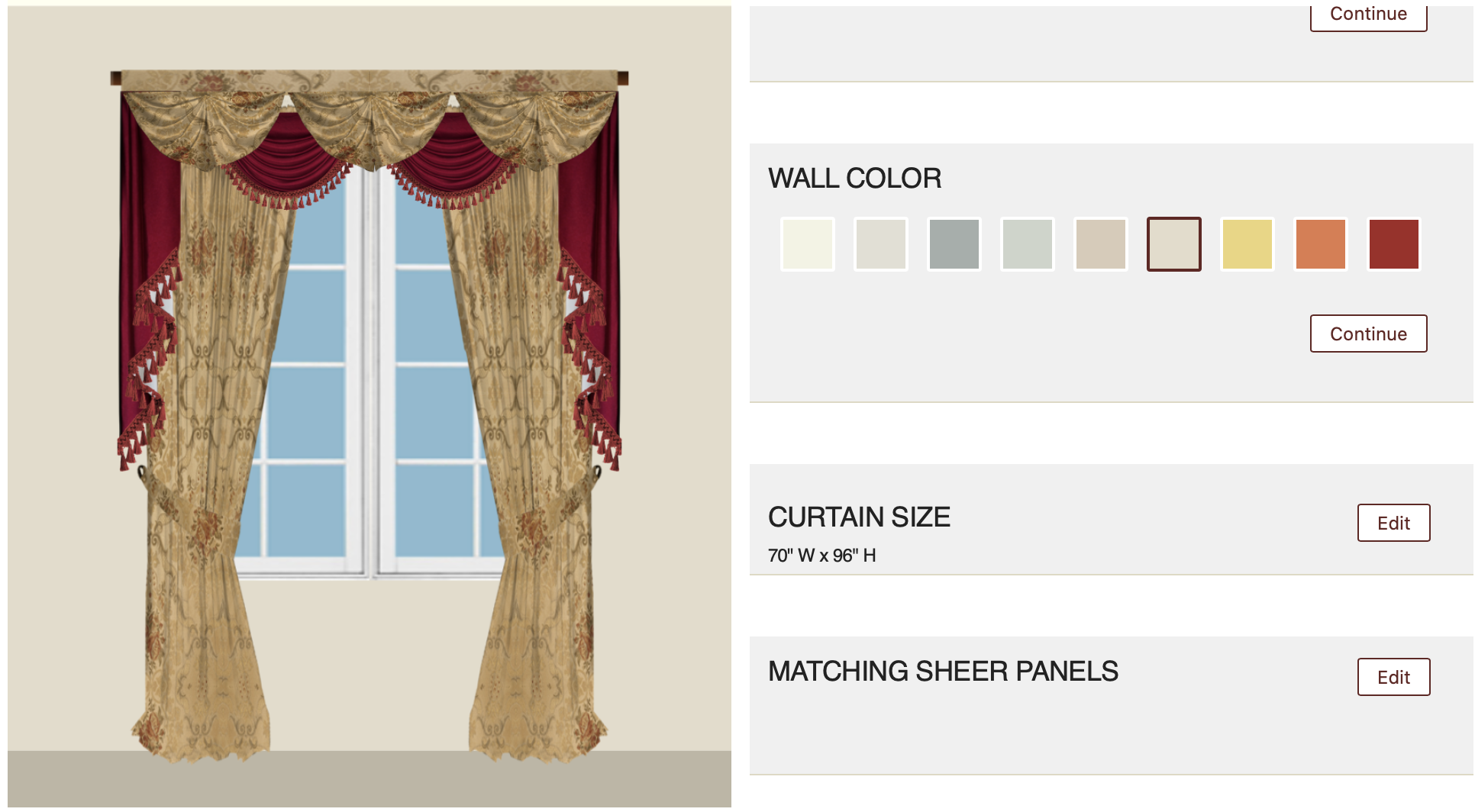 Customization-Wall Color