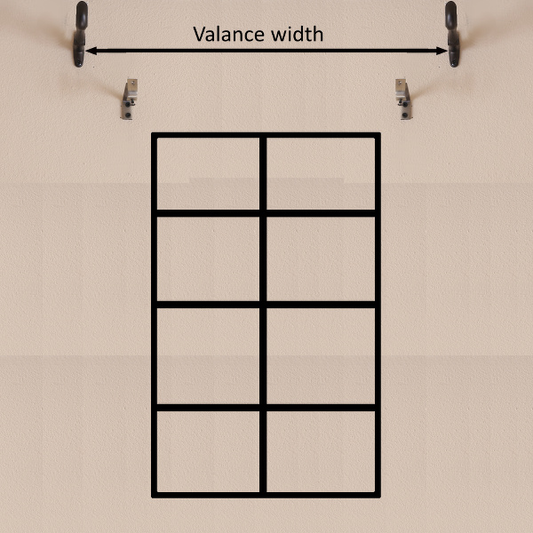 Instruction-window frame measurement