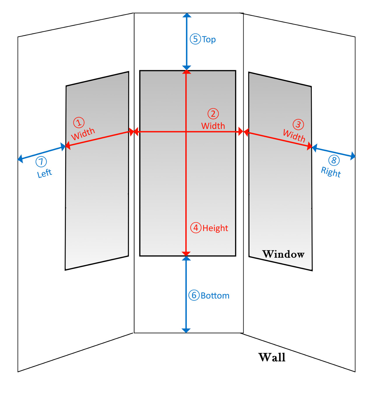 Bay Window Sizes And Details Pictures To Pin On Pinterest
